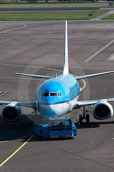 Airplane Ready For Boarding Royalty Free Stock Image - Image: 8908456