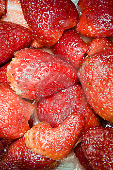 Strawberries In Sugar Royalty Free Stock Images - Image: 8908749