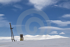 Power Line Transformer Stock Images - Image: 8909424