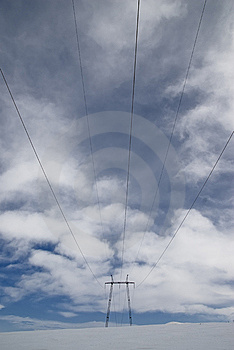 Electric Lines Stock Photo - Image: 8909430