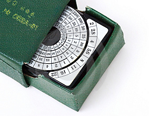 Retro Exposure Meter Stock Photography - Image: 8910212