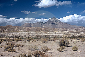 Wide Landscape In Bolivia,Bolivia Royalty Free Stock Photos - Image: 8910768