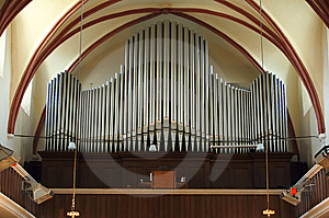 Pipe Organ Stock Image - Image: 8910861