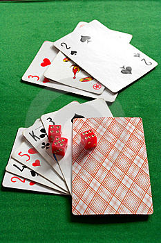 Cards And Joker Stock Photos - Image: 8911103