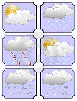 Weather Forecast Royalty Free Stock Image - Image: 8911306