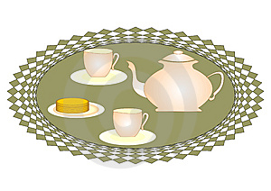 Tea For Two Stock Images - Image: 8911424