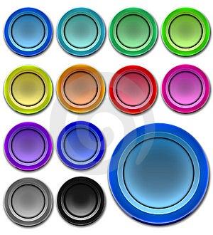 Botones Del Web Fotos de archivo libres de regalías - Imagen: 8911518