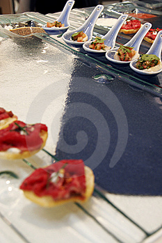 Gourmet Canapes 2 Royalty Free Stock Photo - Image: 8914485