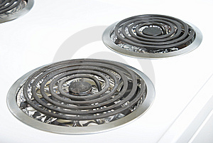 Stove Element Stock Photo - Image: 8916200