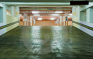 Carpark Interior Stock Photos - Image: 8917773
