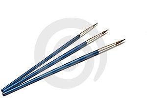 Three Brushes Royalty Free Stock Photo - Image: 8918535