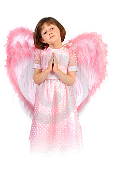 Pink Angel Stock Photography - Image: 8919142
