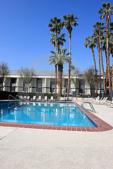Swimming Pool In Hotel Royalty Free Stock Photos - Image: 8919218