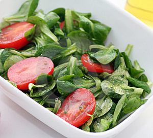 Fresh Salad Royalty Free Stock Image - Image: 8919656