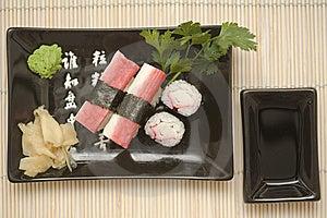 Sushi Plate Stock Image - Image: 8924311