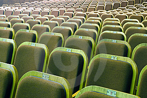 Seats Of Auditorium Royalty Free Stock Photos - Image: 8924788