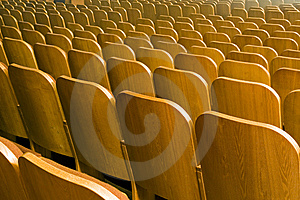 Seats Of Auditorium Royalty Free Stock Images - Image: 8924809