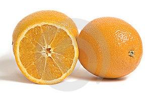 Citrus Orange Fruits Isolated On White Stock Photos - Image: 8925513