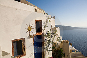 Greek House Stock Image - Image: 8926391