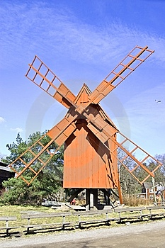 Windmill Royalty Free Stock Photography - Image: 8926397