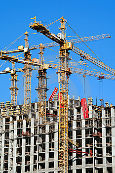 Building Site Vertical. Stock Images - Image: 8926804