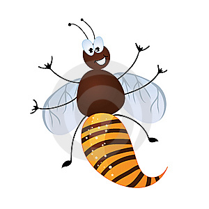 Cute Bee Stock Images - Image: 8926874