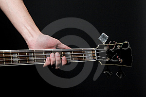 Vintage Bass Guitar Royalty Free Stock Photo - Image: 8927005