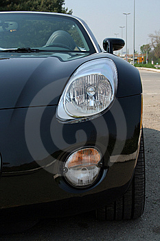 Roadster On Road Stock Photography - Image: 8927302