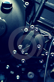 Motorcycle Engine Stock Images - Image: 8928544