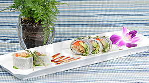 Chef's Special Sushi Roll Stock Photography - Image: 8929672