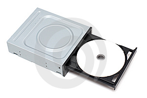 Disk In Tray Royalty Free Stock Photography - Image: 8929997