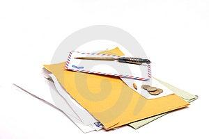 письмо Стоковые Изображения - изображение: 8930164
