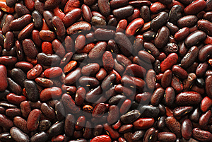 Red Beans Background Stock Image - Image: 8931661