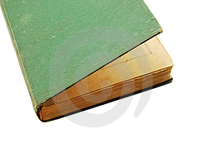 Green Old Book Stock Photography - Image: 8931682