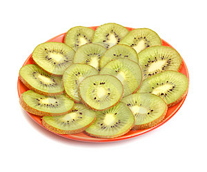 Kiwi In Plate Stock Images - Image: 8932214