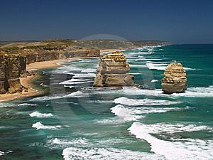 Twelve Apostles Royalty Free Stock Photo - Image: 8932705