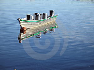 Boat In River Stock Photography - Image: 8933522