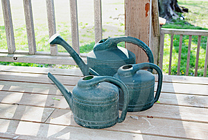 Watering Cans Royalty Free Stock Photo - Image: 8934335