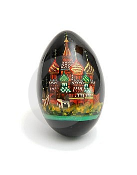 Russian Easter Egg Isolated Royalty Free Stock Photo - Image: 8935325