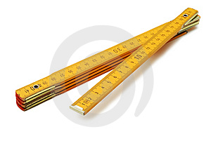 Measuring Tape / Ruler Royalty Free Stock Photography - Image: 8936597