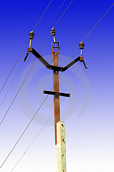 Electricity Wires Stock Images - Image: 8936984