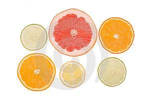 Fruits   Slices Royalty Free Stock Image - Image: 8937886