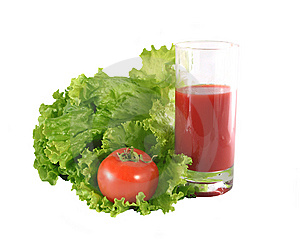 Fresh Salad And Tomato. Royalty Free Stock Photo - Image: 8938435