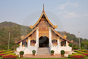 Northern Traditional Thai Style Architecture Royalty Free Stock Photos - Image: 8939828