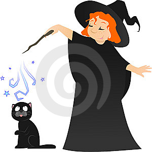Little Witch Stock Images - Image: 8940874