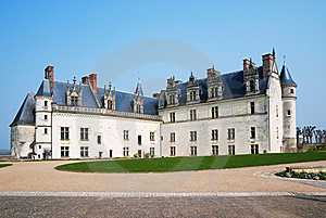 French Royal Palace In Amboise Close-up Royalty Free Stock Photography - Image: 8940937