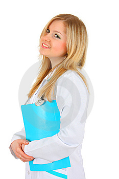 Beautiful Lady Doctor Royalty Free Stock Photos - Image: 8943018