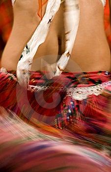 Ballerino Zingaresco Fotografia Stock - Immagine: 8943042