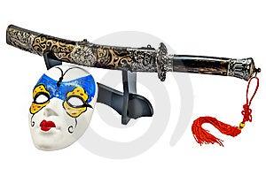 Japanese Sword_04 Royalty Free Stock Image - Image: 8943096