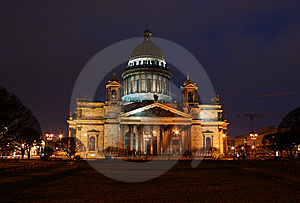 Saint Petersburg City, Nightlife Stock Photography - Image: 8943632